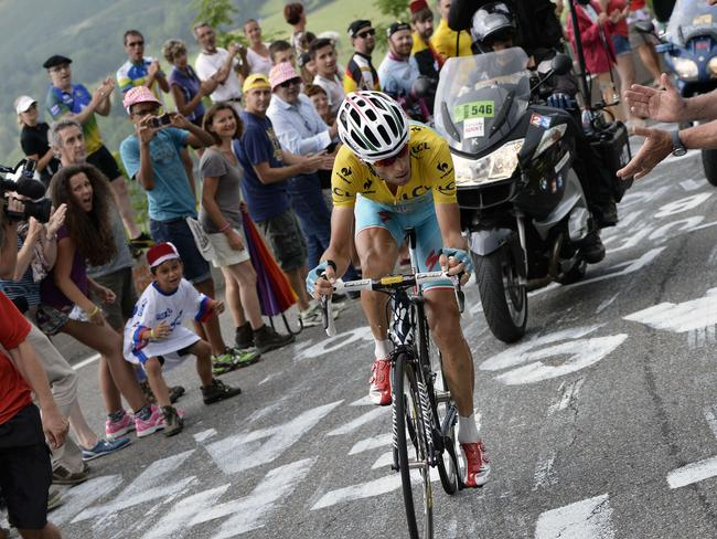 Italy's Vincenzo Nibali has been unbeatable in the mountains.