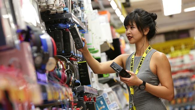 JB Hi-Fi has chalked up a record full-year profit. Picture: Peter Wallis