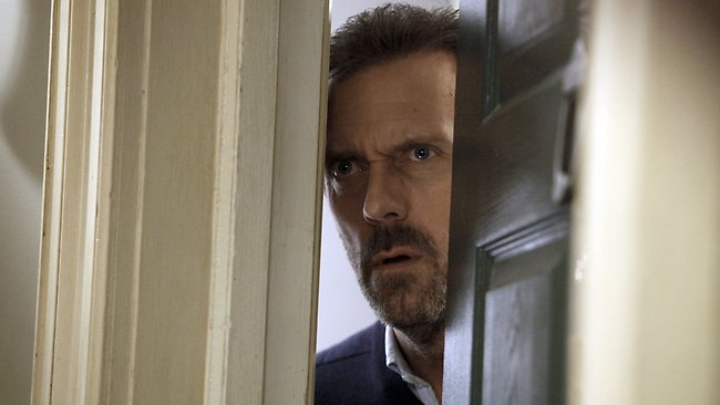 Hugh Laurie as Dr House. Pictures: Supplied