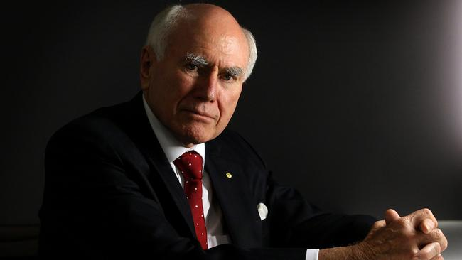 Weighing in on foreign policy ... former Australian prime minister John Howard.