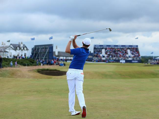 Rose made six birdies in his final round. Picture: Andrew Redington