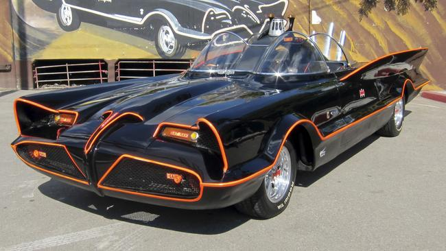 Dream car: Batmobile.