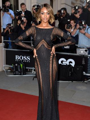 Jourdann Dunn attends the GQ Men of the Year awards.