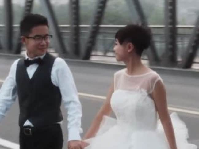 Gay Chinese men and women are taking part in 'sham' marriages to overcome the disapproval of family members. Picture: Inside the Chinese Closet Documentary.