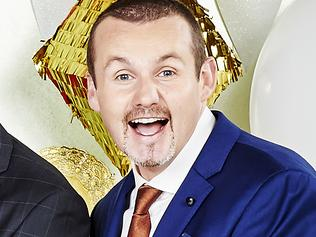 EMBARGOED FOR SWITCHED ON USE ONLY BEFORE MARCH 11: Stefan Dennis, Jackie Woodburne, Alan Fletcher, Ryan Moloney. Picture Channel 10
