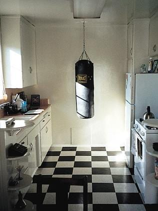Boxing while cooking is timesaving.