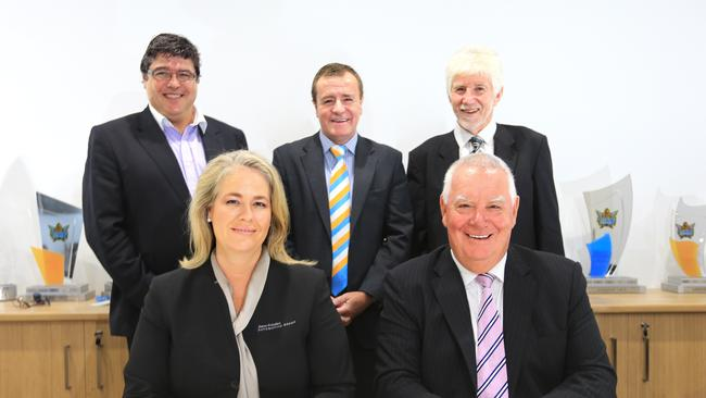 Rebecca Frizelle (front left) is on the Gold Coast board.