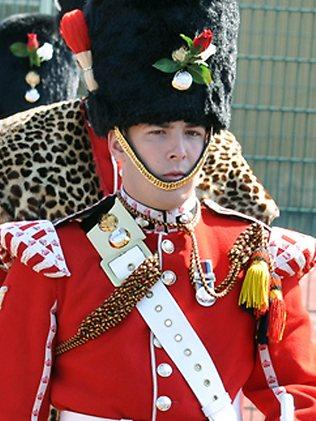 Lee Rigby, known as Riggers to his friends, loved taking part in ceremonial duties. (AP Photo / MOD)
