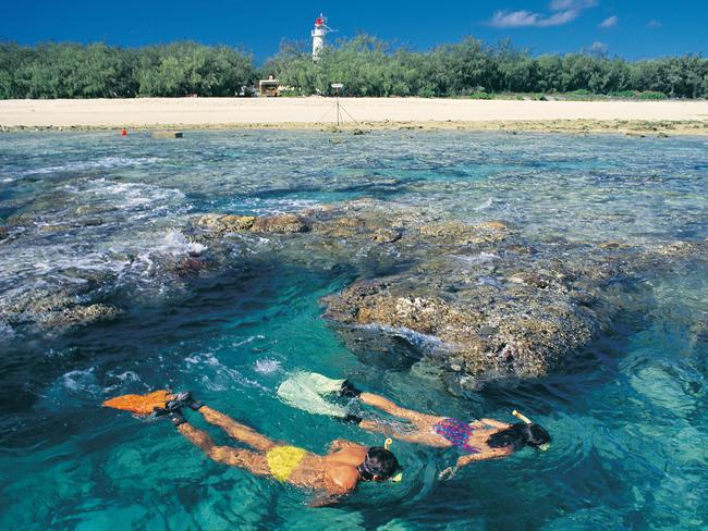 While heat stress is a major cause of bleaching, other stressors — including pollution, changes in salinity and human use of reefs — also play a role in bleaching. Picture: Queensland Tourism