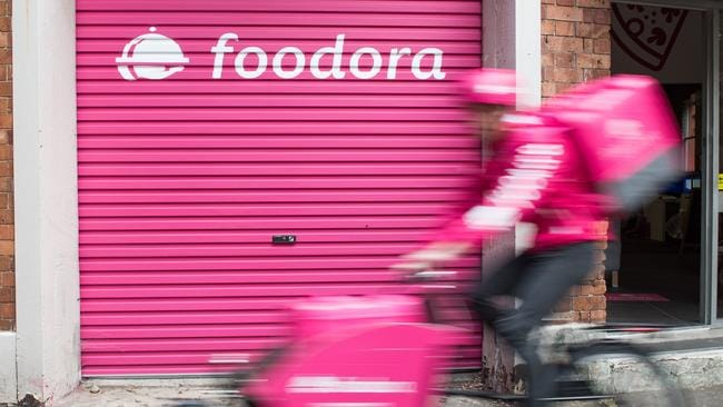 Aussies who order through Menulog, UberEats, Deliveroo and Foodora are ordering food delivery around once a week.