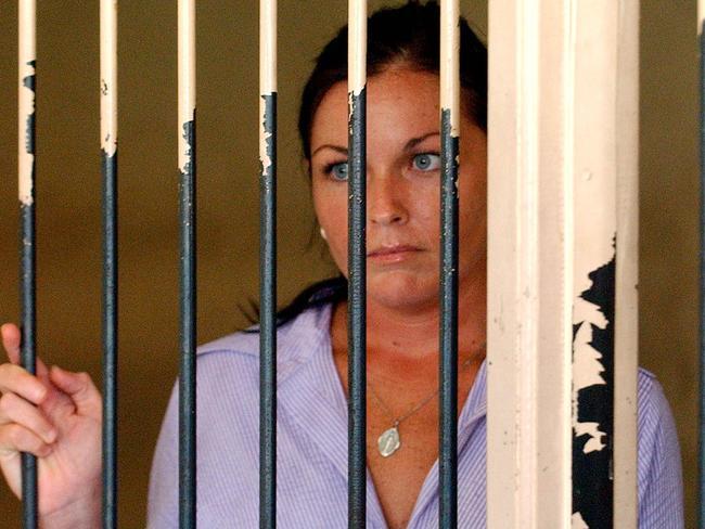 Schapelle Corby in Kerobokan prison in 2008. Picture: Mick Tsikas/ AAP