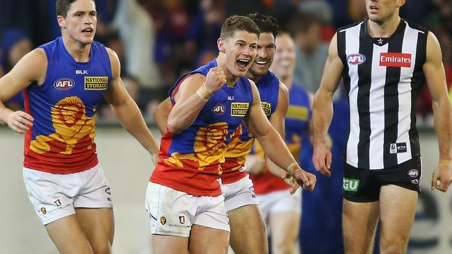Dayne Zorko was in everything for the Brisbane Lions.