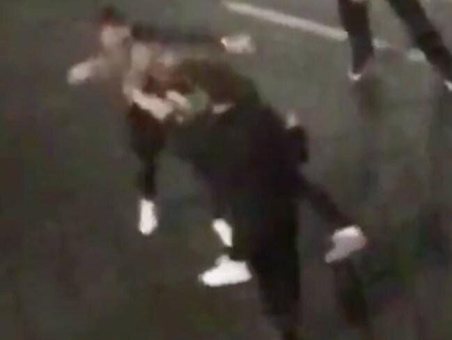 Ben Stokes' drunken brawl in Bristol.