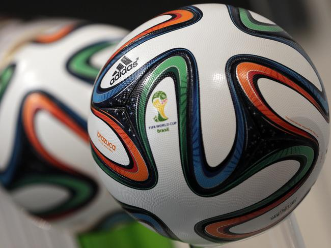 FIFA World Cup ball produced in Sialkot.