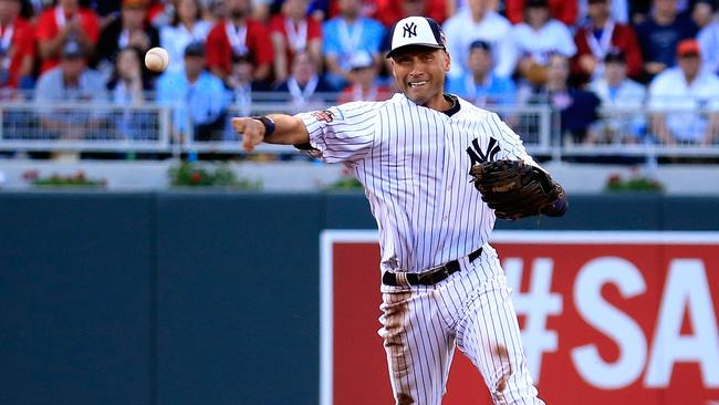 Jeter was his ever-dangerous self at shortstop.