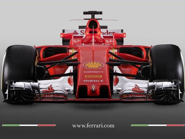 Ferrari reveals new car for 2017 F1 season