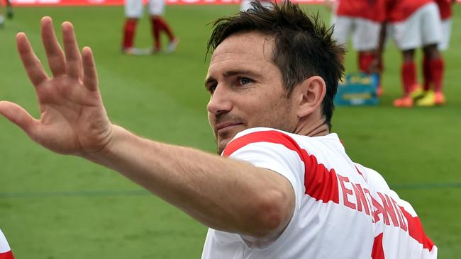 Lampard says goodbye.