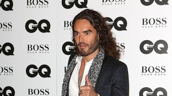 He might have his fair share of haters, but Russell Brand will always tell it like it is. Picture: Getty