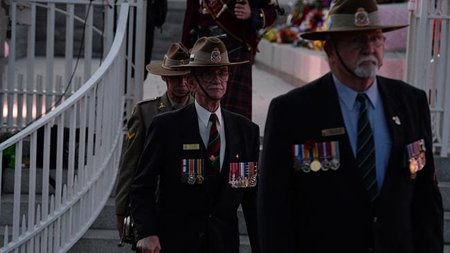 The 2014 ANZAC Day Dawn Service at Kings Park in Perth is attended by around 40,000 people.