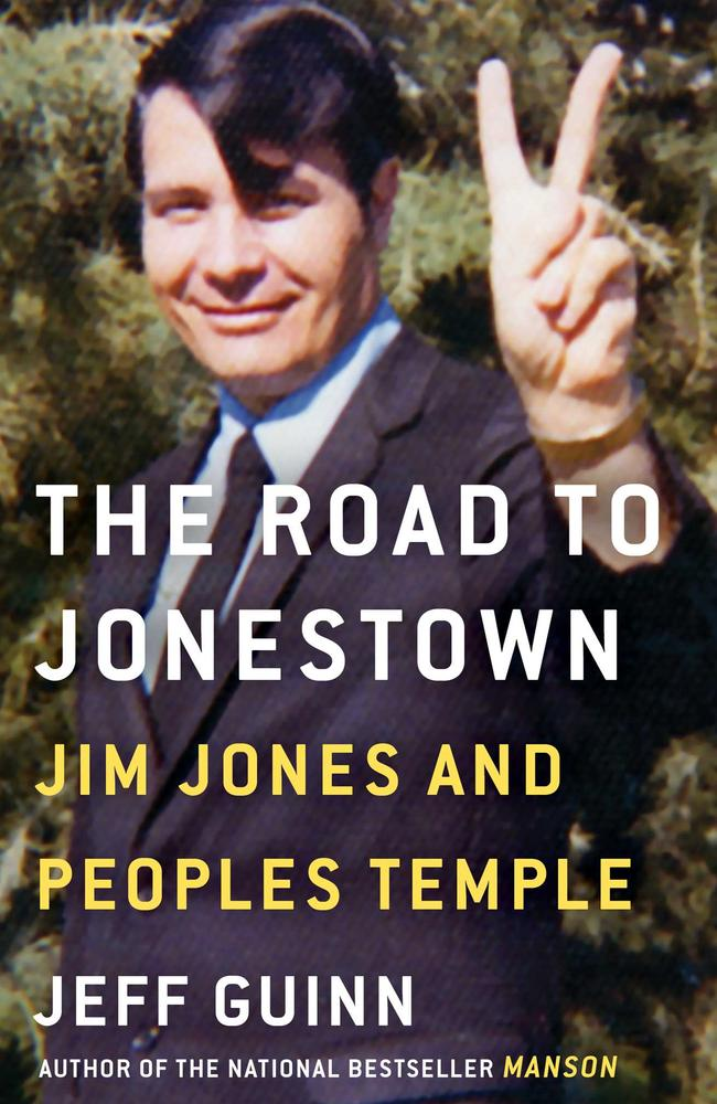 The Road to Jonestown by Jeff Guin is now available in Australia.