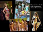 SUITS YOU, MISS: We track the changing shape of Miss Universe's swimsuit.