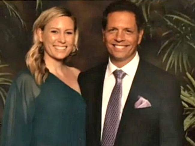 Australian woman, Justine Ruszczyk Damond with partner Don Damond. Justine was killed by a Minneapolis police officer outside her home.