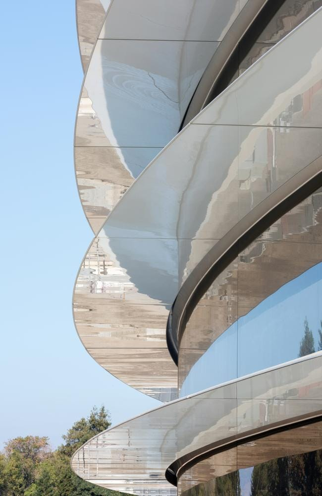 """We have approached the design, engineering and making of our new campus with the same enthusiasm and design principles that characterise our products,"" said Apple chief design officer Jony Ive. Picture: Nigel Young/Foster + Partners"