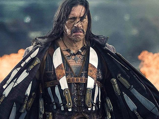 Machete's weapon of choice: facial hair.