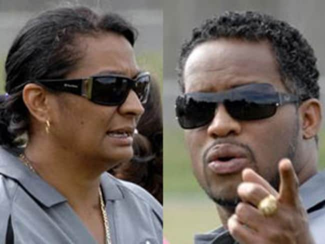 Affair allegations ... Nova Peris and Ato Boldon.