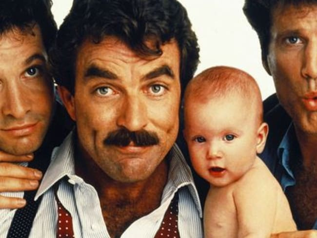 Master of many trades ... Leonard Nimoy directed 1987 box-office hit 3 Men and a Baby starring Tom Selleck. Picture: Supplied