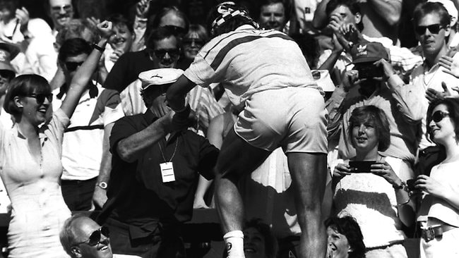 Pat Cash beat Ivan Lendl at Wimbledon in 1987 but thought he could do with more of a workout.
