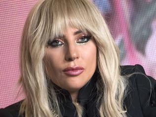 "(FILES) This file photo taken on September 8, 2017 in Toronto, shows Singer Lady Gaga attending the press conference for ""Gaga: Five Foot Two"" during the 2017 Toronto International Film Festival at TIFF Bell Lightbox. Lady Gaga cancelled her European Tour because she suffers from fibromyalgia, the artist's promoter Live Nation announced on September 18, 2017. / AFP PHOTO / VALERIE MACON"