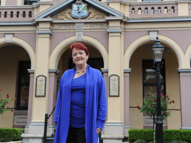 Lorraine Wearne was Parramatta's first female lord mayor.