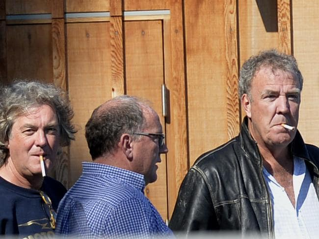 Jeremy Clarkson Richard Hammond Smoking Jeremy Clarkson smokin...