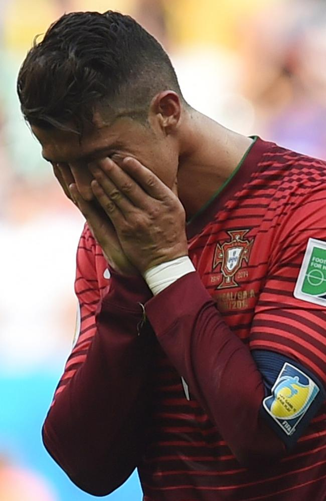 He scored the winner, but there was no happy ending for Portugal's Cristiano Ronaldo.