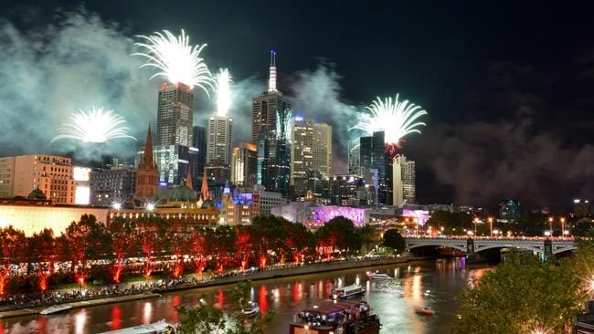 More than 1000 officers will be deployed in the city to protect partygoers. Picture: Stephen Harman/ News Corp Australia.