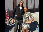 "Behind The Scenes 2014 MTV VMAs... Rapper Snoop Dogg posts, ""Me n daddy's lil gurl"" Picture: Instagram"