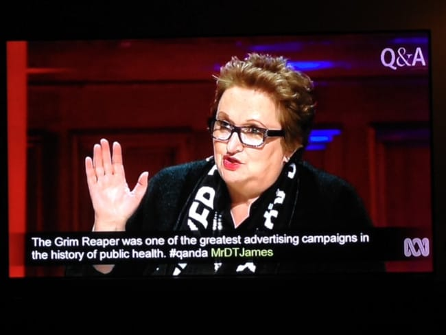 Amanda Vanstone and THAT scarf