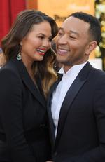 Chrissy Teigen and John Legend attend the 23rd Annual Screen Actors Guild Awards at The Shrine Expo Hall on January 29, 2017 in Los Angeles, California. Picture: Getty
