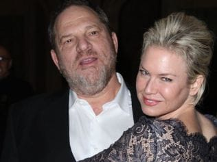 Harvey Weinstein and Renée Zellweger attend Plaza Hotel in 2008, New York City. Photo: JIMI CELESTE/Patrick McMullan via Getty.