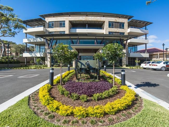 The just-completed block Gallipoli at the RSL War Vets in Narrabeen for some of our brave