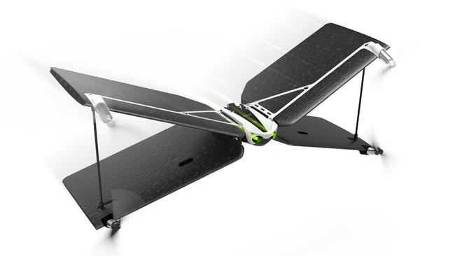 The Parrot Swing minidrone is easy to fly.