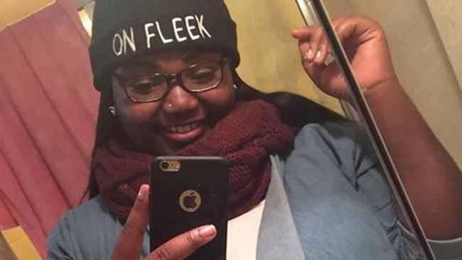 Kayla Newman, also known as Peaches Monroe, created the saying 'on fleek'. Picture: Instagram