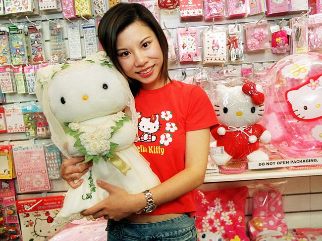 Hello Kitty mania.