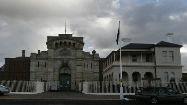 The front exterior of Bathurst Correctional Facility, about 200km northeast of Sydney, NSW.