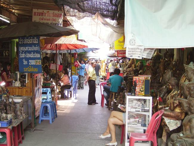 The source of magical powers — Bangkok's amulet market. Picture: iStock