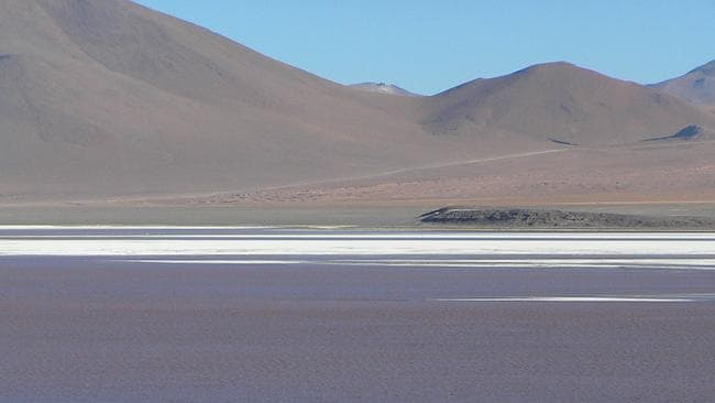 World's largest salt flat ... the bus crashed returning from a trip to Bolivia's Salar de Uyuni.