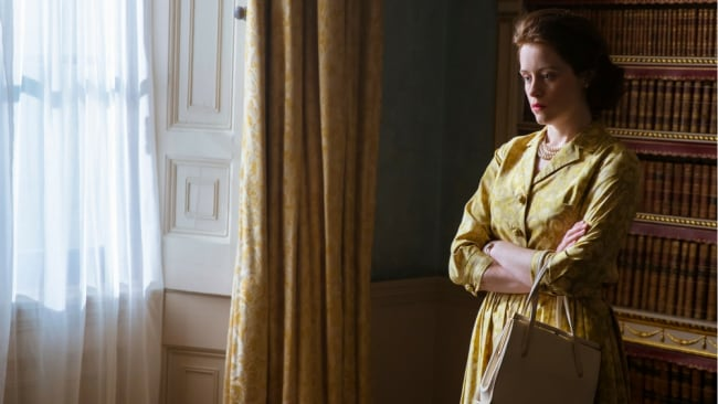 Interiors were shot at Lancaster House. Photo: Netflix