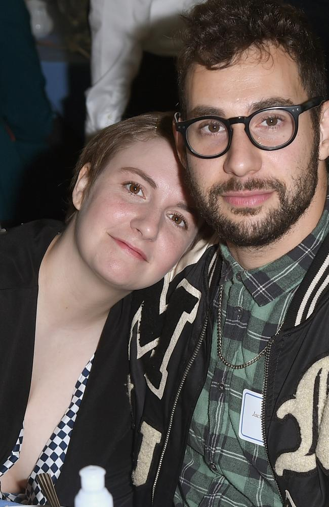 Lena Dunham penned an article for Variety about her then-boyfriend Jack Antonoff in October. The couple has since split. Picture: Getty Images