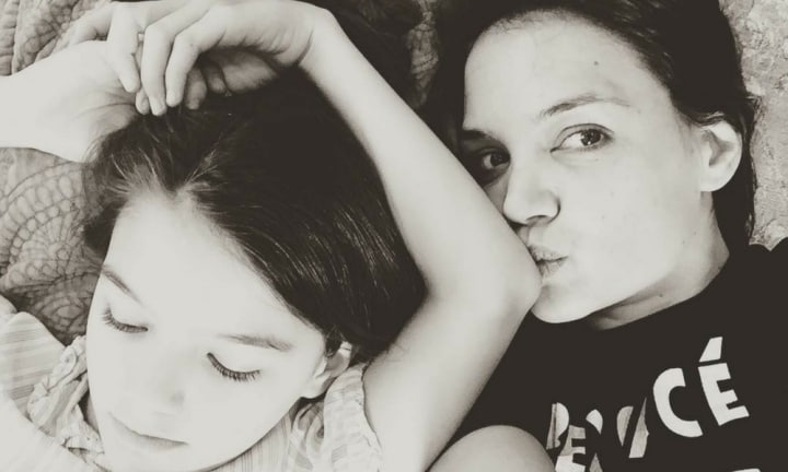 Katie Holmes shares adorable birthday snap of mini-me daughter Suri
